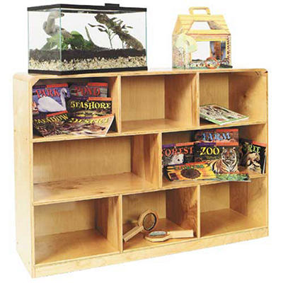 8 Compartment Storage Shelf