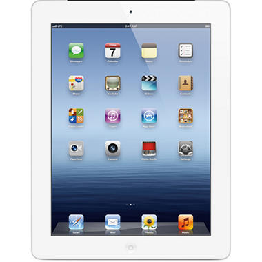 iPad third generation Wi-Fi + 4G LTE 32GB - White (AT&T)