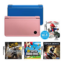 DSi XL Handheld with Game