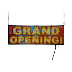 "Full Color Window LED Sign  (38"" x 13"" x 3"")"