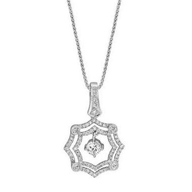 .71 ct. t.w. Diamond Pendant (H-I, I1)
