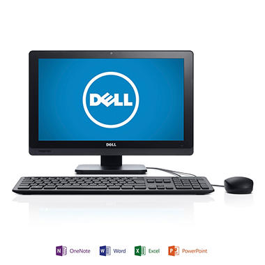 "Dell io2020-2750 20"" Desktop Computer, Intel Pentium G2030T, 4GB Memory, 1TB Hard Drive  with Microsoft Office Home and Student 2013"