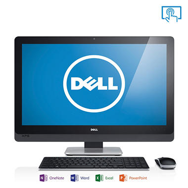 "Dell XPSo27T-1421 27"" Touch Desktop Computer, Intel Core i5-4440S, 8GB Memory, 1TB Hard Drive  with Microsoft Office Home and Student 2013"