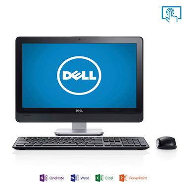 "Dell Inspiron io2330T-2645 23"" Touch Desktop Computer, Intel Pentium G2030, 4GB Memory, 1TB Hard Drive with Microsoft Office Home and Student 2013"