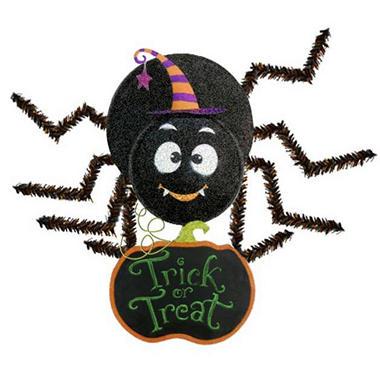 Friendly Spider Chalkboard Wall Hanging - Boy - Original Price $19.98 Save $10.10