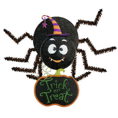 Friendly Spider Chalkboard Wall Hanging - Boy - Original Price $19.98 Save $10.10