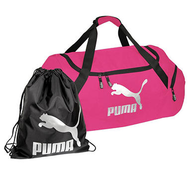"24"" PUMA Duffel Bag With Gym/Carry Sack - Various Colors"