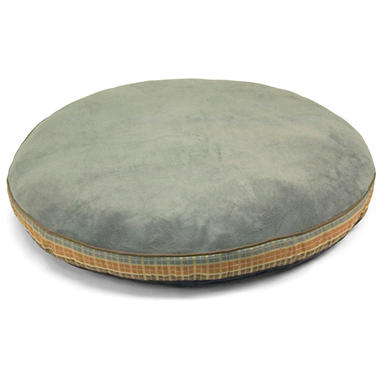 Simply Right Gusseted Pet Bed - Blue Round