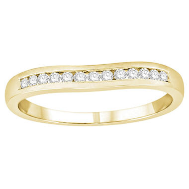 0.15 ct. t.w. Diamond Enhancer Ring in 14k Yellow Gold (H-I, I1)