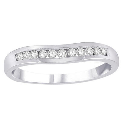 0.20 ct. t.w. Diamond Enhancer Band in 14k White Gold (H-I, I1)