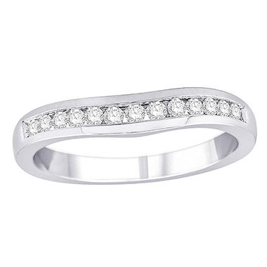 0.25 ct. t.w. Diamond Enhancer Ring in 14k White Gold (H-I, I1)