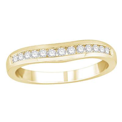 0.25 ct. t.w. Diamond Enhancer Ring in 14k Yellow Gold (H-I, I1)