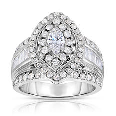 1.95 ct. t.w. Marquee Diamond Ring in 14K White Gold (I-I1)
