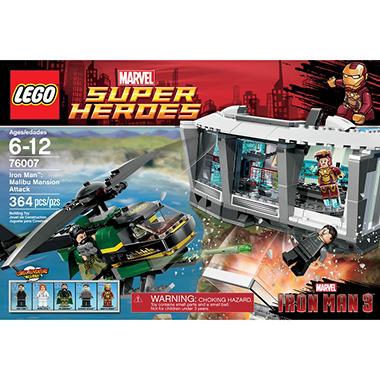 LEGO® Iron Man™: Malibu Mansion Attack