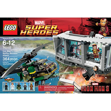 LEGO® Iron Man™: Malibu Mansion Attack