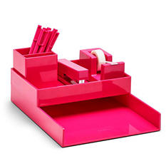 Poppin All Set. 18-Piece Desk Collection (Assorted Colors)