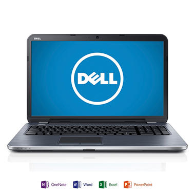 "Dell Inspiron 17R 17.3"" Laptop Computer, Intel Core i7-3537U, 8GB Memory, 1TB Hard Drive with Microsoft Office Home and Student 2013"