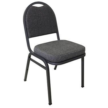 MGI - Commercial Quality Stack Banquet Chair, Pepper - 4 Pack