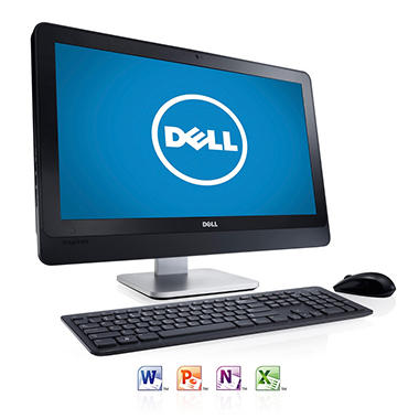 "Dell Inspiron 2330 23"" Desktop Computer,  Intel Pentium G2020, 4GB Memory, 500GB Hard Drive with Microsoft Office Home and Student 2013"