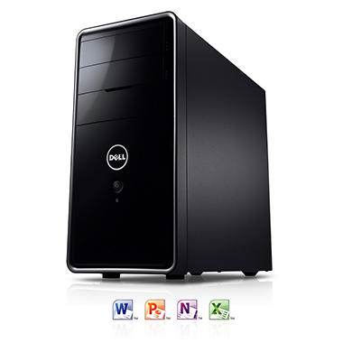 Dell Inspiron 660 Desktop Computer, Intel Core i5-3330, 8GB Memory, 2TB Hard Drive with Microsoft Office Home and Student 2013