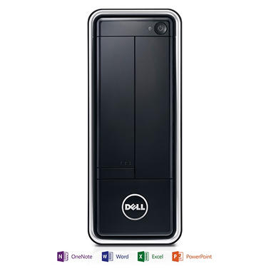 Dell Inspiron 660S Desktop Computer, Intel Core i3-3240, 4GB Memory, 1TB Hard Drive with Microsoft Office Home and Student 2013