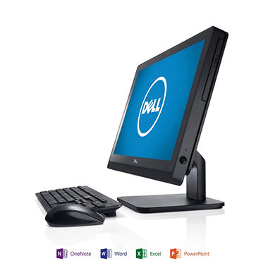 "Dell Inspiron 2020 20"" Desktop Computer, Intel Celeron G1610T, 4GB Memory, 500GB Hard Drive with Microsoft Office Home and Student 2013"