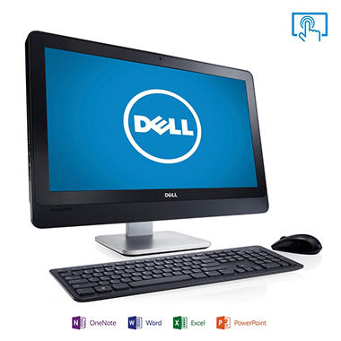 "Dell Inspiron 2330 23"" Touch Desktop Computer, Intel Core i7-3770S, 8GB Memory, 1TB Hard Drive with Microsoft Office Home and Student 2013"