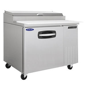 Nor-Lake AdvantEDGE Stainless Steel Pizza Prep Table - 44""