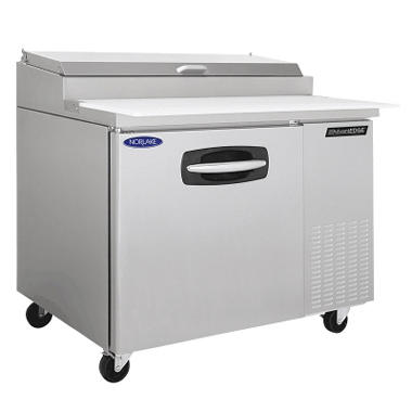 Nor-Lake AdvantEDGE Stainless Steel Pizza Prep Table - 44