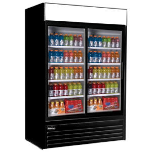 Nor-Lake AdvantEDGE 2 Door Refrigerated Merchandiser