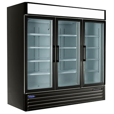 Nor-Lake® AdvantEDGE™ 3 Door Refrigerated Merchandiser