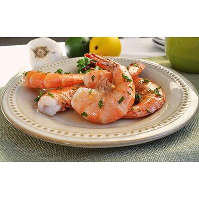 Colossal  Shell On Uncooked Shrimp - 20 lbs.