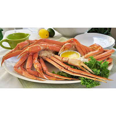 Snow Crab Clusters, Ready To Eat (10 lbs.)