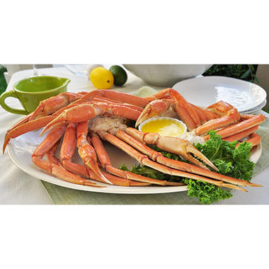 Snow Crab Clusters - Ready To Eat - 10 lbs.