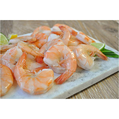 EZ Peel Large Cooked Shrimp - 30 lbs.