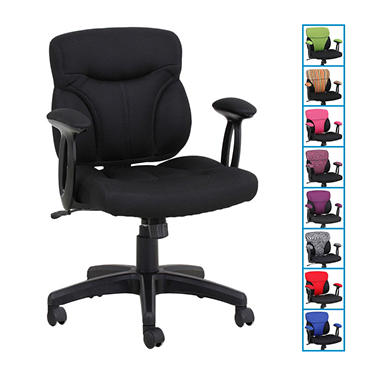 Global Furniture Cool Task Chair with Reversible Cover - Various Colors
