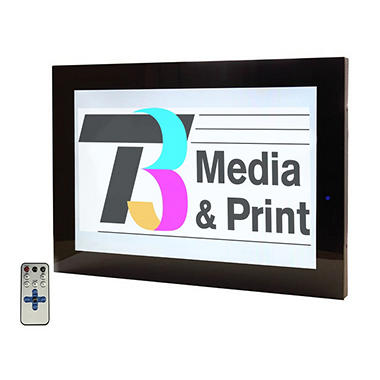 "19"" Plug & Play Flat Panel Digital Signage Wall Display"
