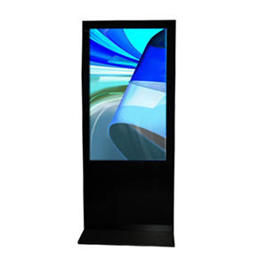 "46"" Gallery? Powered Full-Feature Portrait Flat Panel Digital Signage Kiosk Display"