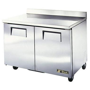 True 2-Door Worktop Refrigerator - 48