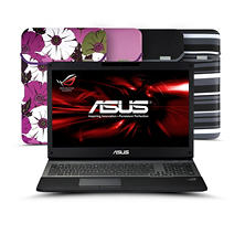 "ASUS G75VW-DH72 17.3"" Laptop Computer, Intel Core i7-3630QM, 16GB Memory, 750GB Hard Drive with Reversible Sleeve"