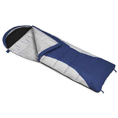 Ridgeway by Kelty 30 Degree Sleeping Bag - Blue and Gray