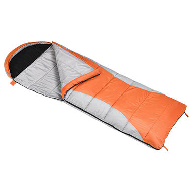 Ridgeway by Kelty 30 Degree Sleeping Bag - Orange and Gray