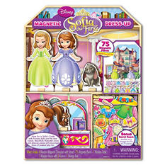 Disney Sophia Wooden Magnetic Doll & Playhouse