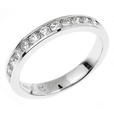 0.45 CT. T.W. Regal Diamond Band in 14K White Gold (I, SI2)