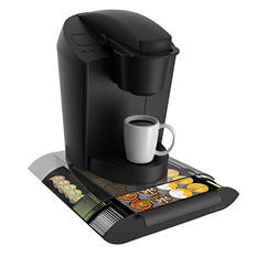 Mind Reader Coffee Pod Drawer With Condiment Compartments - Assorted Color Options