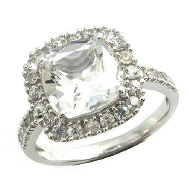 white topaz white sapphire ring in 14k white gold sam