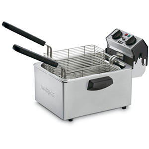 Waring Commercial Countertop Deep Fryer - 120 volts