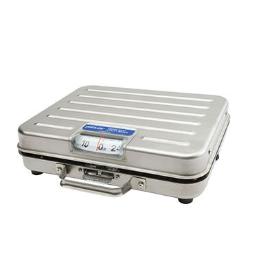 Rubbermaid Pelouze Briefcase Receiving Scale - 250 lbs. x 1 lb.