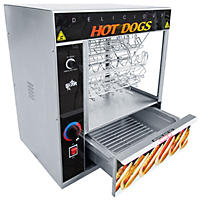 Star Manufacturing - STM175CBA - Broil-O-Dog Hot Dog Broiler and Bun Warmer