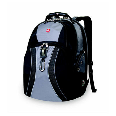SwissGear ScanSmart Laptop Backpack - Gray